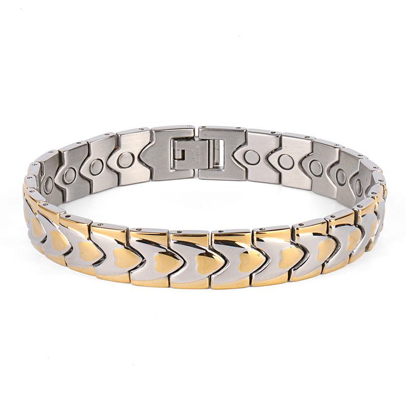 Stainless Steel bracelets with magnets
