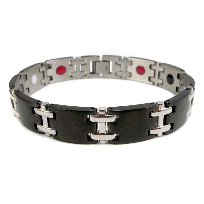 Stainless Steel bracelet with magnets